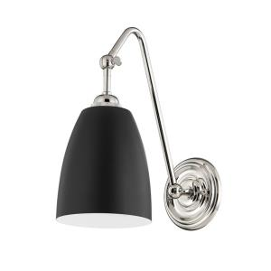 Millwood - 1 Light Wall Sconce in Transitional Style - 6 Inches Wide by 13.5 Inches High