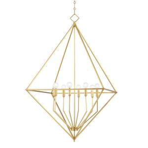 Haines - 8 Light Large Pendant in Contemporary/Modern Style - 32 Inches Wide by 43 Inches High