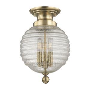 Coolidge - Three Light Flush Mount