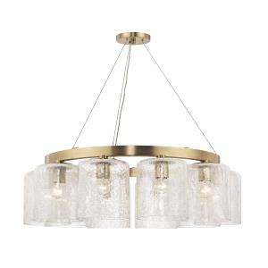 Charles 10-Light Chandelier - 34.5 Inches Wide by 10.25 Inches High