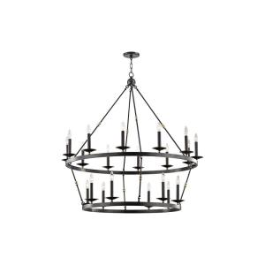 Allendale 20-Light Chandelier - 46.75 Inches Wide by 38 Inches High