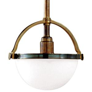 Stratford - One Light Mini Pendant - 10 Inches Wide by 17 Inches High