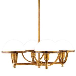 Stratford - Four Light Chandelier - 26.5 Inches Wide by 22 Inches High