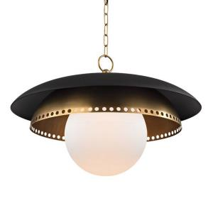 Herikimer - One Light Pendant - 25.5 Inches Wide by 16.5 Inches High
