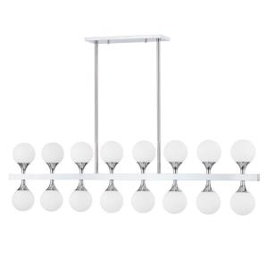 Astoria - 50 Inch 64W 16 LED Island in Contemporary/Modern Style - 50 Inches Wide by 13.75 Inches High