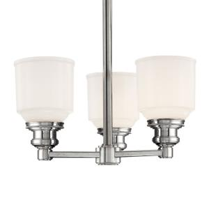 Windham - Three Light Pendant - 15 Inches Wide by 12.75 Inches High