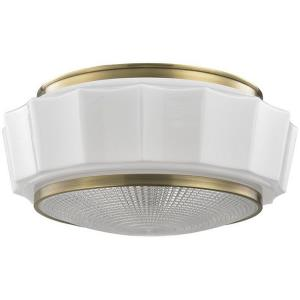 Odessa - Three Light Flush Mount - 16.25 Inches Wide by 7.5 Inches High