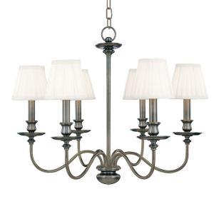 Menlo Park Collection - Six Light Chandelier
