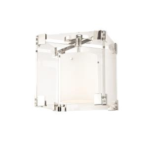 Achilles 1-Light Flush Mount - 13 Inches Wide by 13.25 Inches High