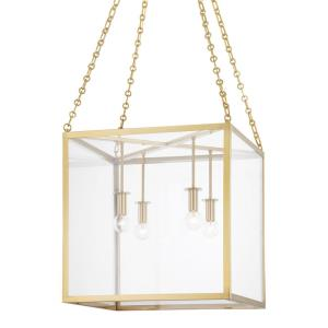Catskill - 4 Light Medium Pendant in Contemporary/Modern Style - 18 Inches Wide by 18 Inches High