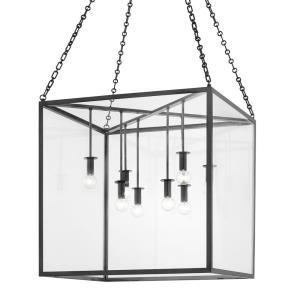Catskill - 8 Light Large Pendant in Contemporary/Modern Style - 24 Inches Wide by 24 Inches High