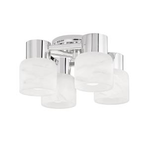 Centerport - Four Light Wall Sconce in Modern Style - 11.5 Inches Wide by 11.5 Inches High