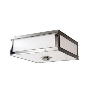 Preston - One Light Flush Mount - 10 Inches Wide by 6 Inches High