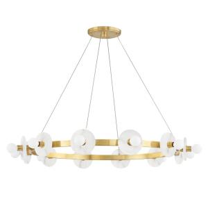 Austen - 12 Light Chandelier in Modern/Transitional Style - 40 Inches Wide by 18 Inches High