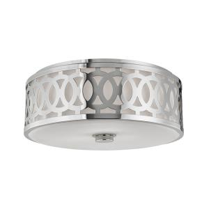 Genesee - Three Light Large Flush Mount - 17 Inches Wide by 7 Inches High