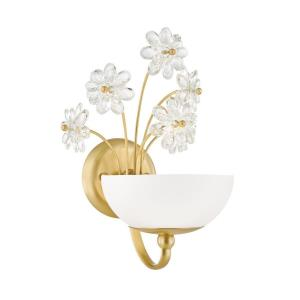 Beaumont - One Light Wall Sconce in Whimsical Style - 9 Inches Wide by 13.75 Inches High