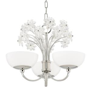 Beaumont - Three Light Chandelier in Whimsical Style - 19.5 Inches Wide by 14.5 Inches High