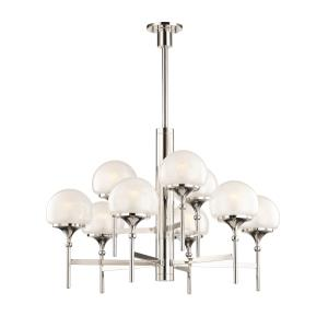 Salem 9-Light Chandelier - 36 Inches Wide by 31 Inches High