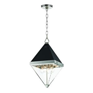 Coltrane 4-Light Pendant - 10 Inches Wide by 19.25 Inches High