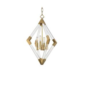 Lyons - Four Light Pendant - 17.25 Inches Wide by 24 Inches High