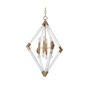 Lyons - Eight Light Pendant - 23.5 Inches Wide by 33 Inches High