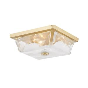 Hines - Three Light Flush Mount in Modern Style - 13 Inches Wide by 4.75 Inches High