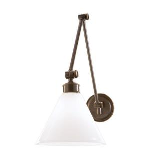 Exeter Collection - One Light Swing Arm Wall Lamp