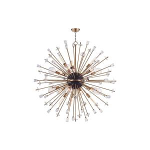 Liberty 6-W Chandelier - 60 Inches Wide by 60 Inches High