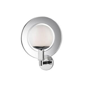 Caswell - 12W 1 LED Wall Sconce - 12 Inches Wide by 15.5 Inches High