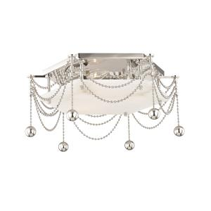 Zariah 3-Light Flush Mount - 17 Inches Wide by 5.75 Inches High