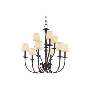 Jefferson Collection - Nine Light Chandelier