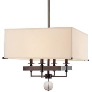 Gresham Park - Four Light Pendant