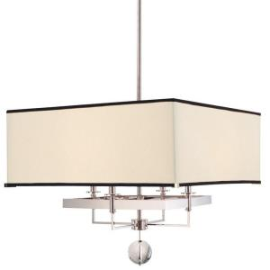 Gresham Park - Four Light Pendant - 24 Inches Wide by 21 Inches High