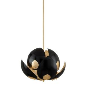 Lotus - Eight Light Chandelier in Modern Style - 24 Inches Wide by 25.25 Inches High