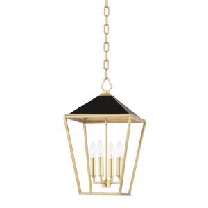 Paxton - 4 Light Small Pendant