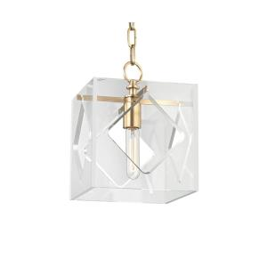 Travis - One Light Pendant - 9 Inches Wide by 10.75 Inches High