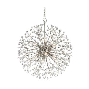 Dunkirk - Eight Light Chandelier - 20 Inches Wide by 24 Inches High