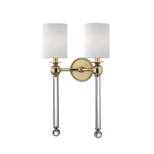 Gordon - Two Light Wall Sconce - 13.75 Inches Wide by 22 Inches High