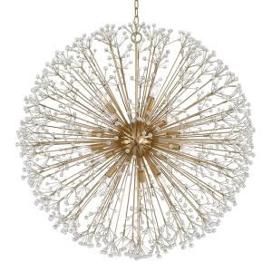 Dunkirk - 16 Light Chandelier in Luxury/Glam Style - 40 Inches Wide by 40 Inches High