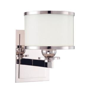 Basking Ridge 1 Light Bath Vanity - 5.5 Inches Wide by 7.75 Inches High