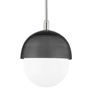 Nyack - 1 Light Large Pendant in Contemporary/Modern Style - 19 Inches Wide by 22 Inches High