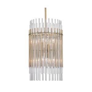 Wallis - Eight Light Pendant - 15 Inches Wide by 25.25 Inches High