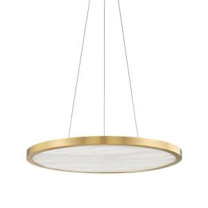 Eastport - 24 Inch 30W 1 LED Pendant in Contemporary/Modern Style - 24 Inches Wide by 1.25 Inches High