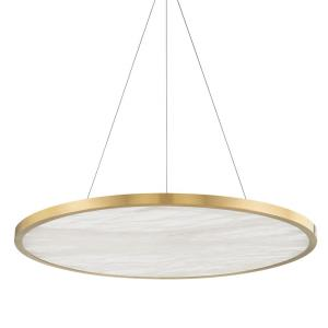 Eastport - 36 Inch 50W 1 LED Pendant in Contemporary/Modern Style - 36 Inches Wide by 1.75 Inches High