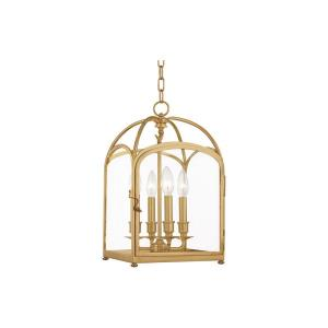 Oxford - Four Light Pendant - 10 Inches Wide by 17.75 Inches High