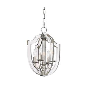 Arietta - Four Light Pendant - 12.5 Inches Wide by 17 Inches High