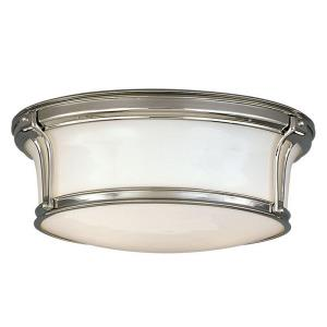 Newport - Two Light Flush Mount - 13 Inches Wide by 5.125 Inches High