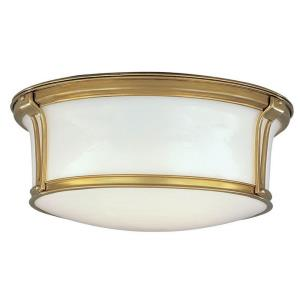 Newport Collection - Three Light Flush Mount
