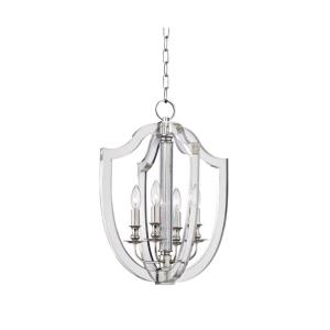 Arietta - Four Light Pendant - 16.5 Inches Wide by 22 Inches High