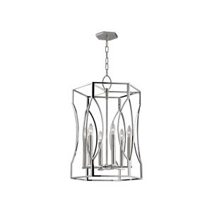 Roswell - Six Light Pendant - 17.25 Inches Wide by 25.5 Inches High